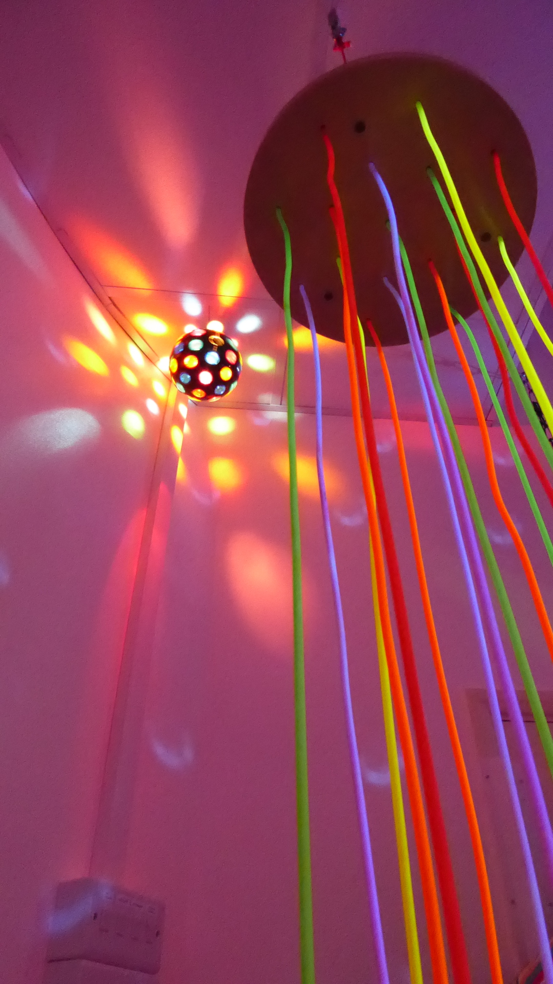 Multi Colour Orb Light and UV Strands